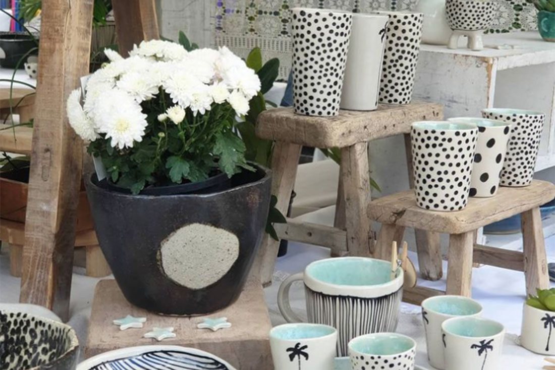 Ceramic Artist Merrie Tomkins